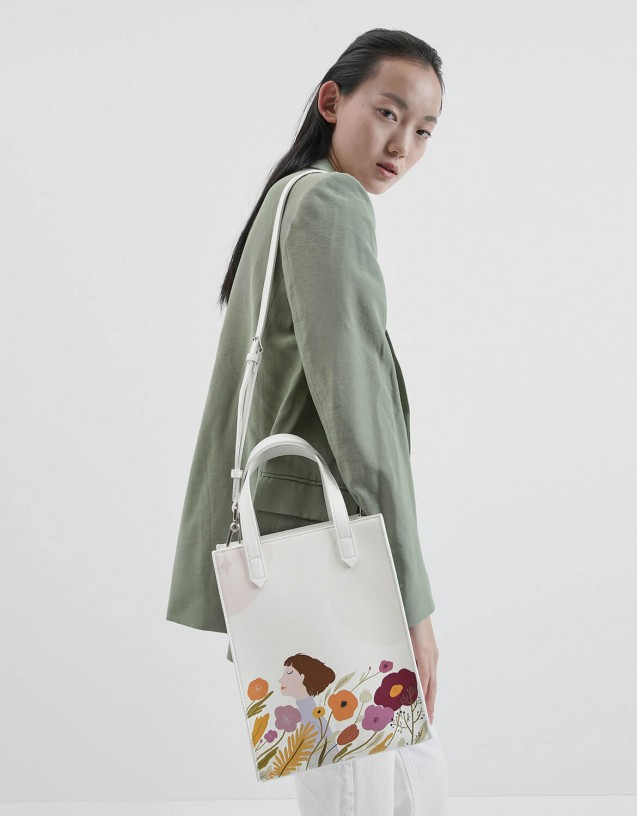 Charles & Keith and Oamul Lu Tote Bag