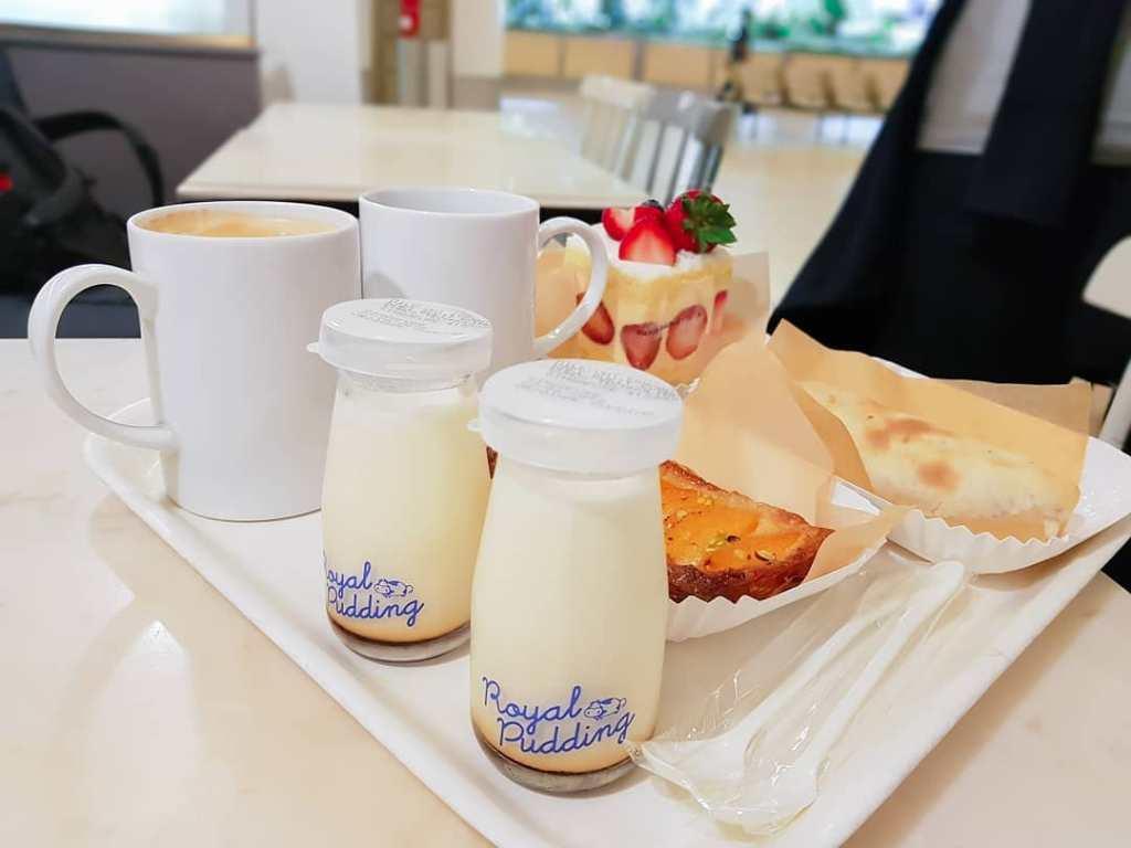 Paris Baguette Royal Pudding