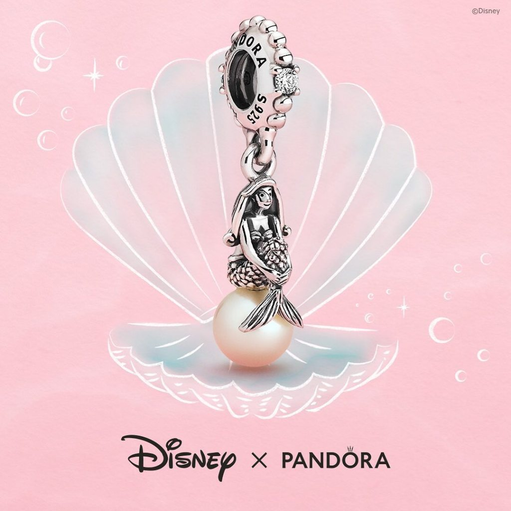 Disney Luminous Ariel Dangle Charm