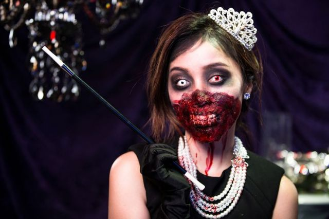 Michelle Phan Zombie Audrey Hepburn