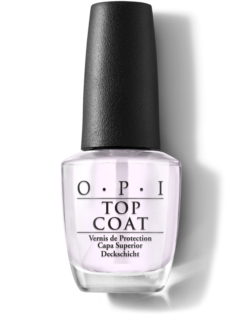 One of the tools you'd need to remove your gel nails: Nail top coat
