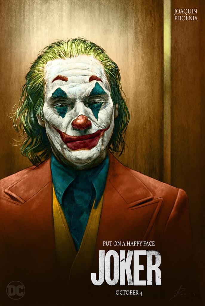 Joaquin Phoenix in Joker 2019 Movie Poster