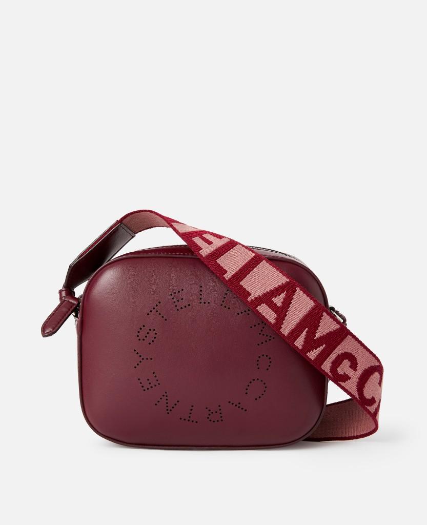 Stella Logo Mini Bag in Wine