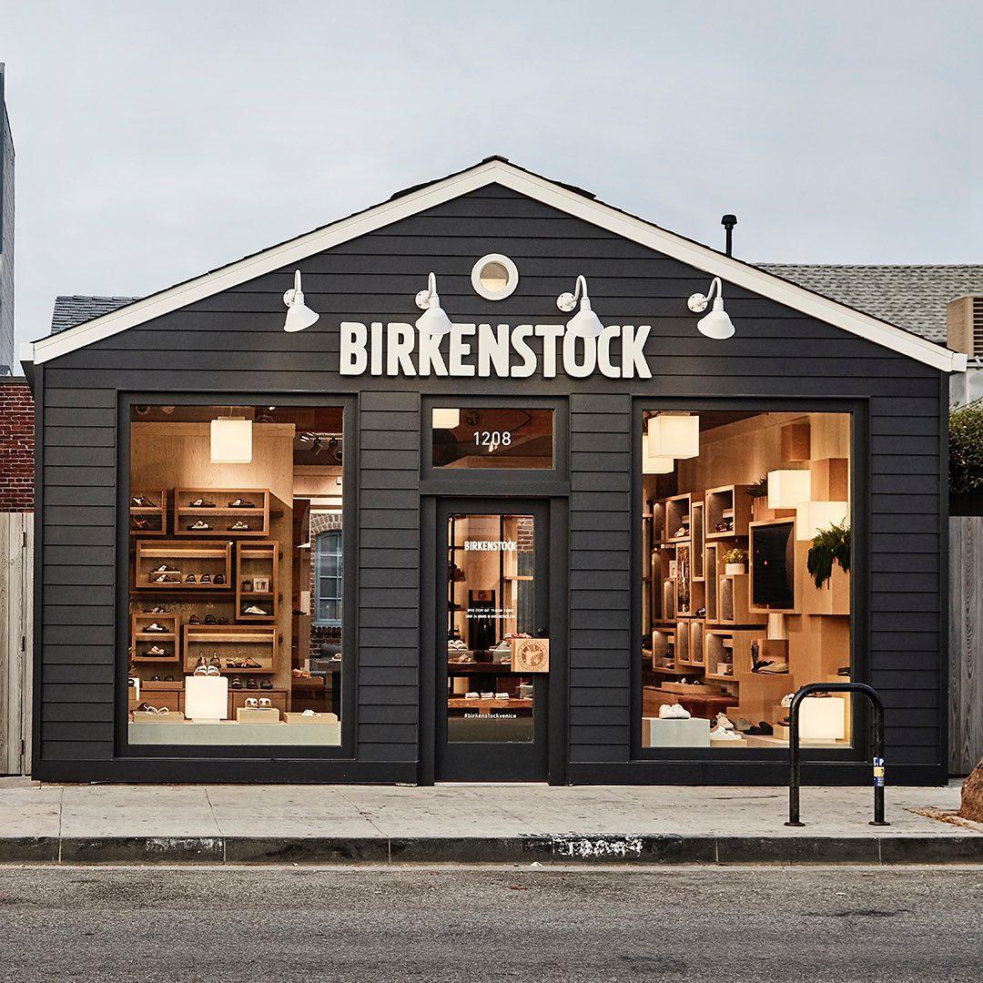 Birkenstock's store front