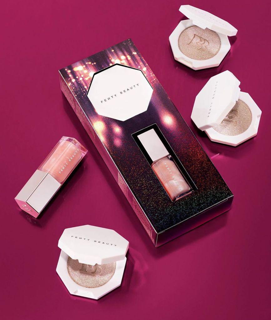 Fenty Beauty Bomb Baby 2 Mini Lip and Face Set — Killawatt Foil Highlighter & Gloss Bomb