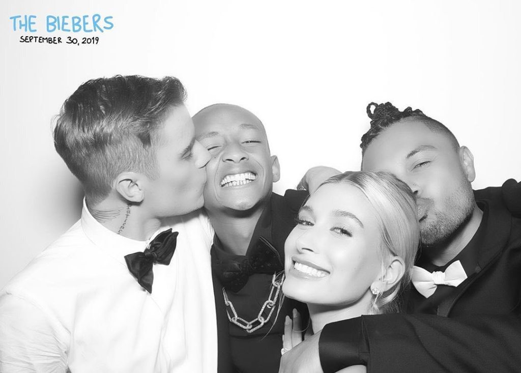 Justin Bieber, Hailey Bladwin, Jayden Smith Wedding photo shoot