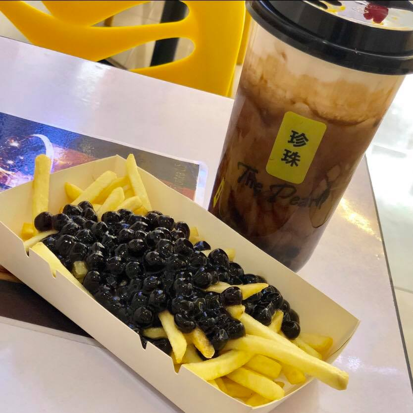 Bubble Tea and Bobba Fries