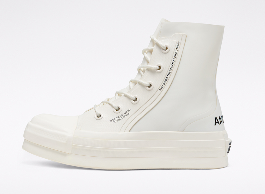 Converse and AMBUSH Chuck 70 side view
