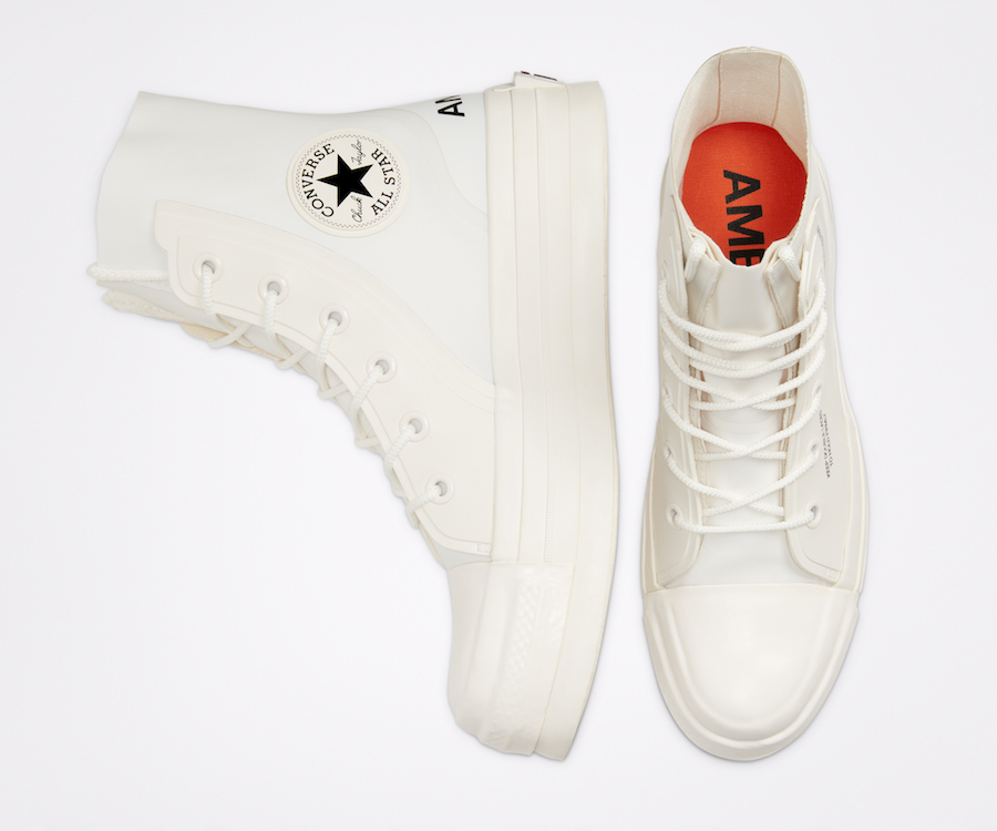 Converse and AMBUSH Chuck 70 top view