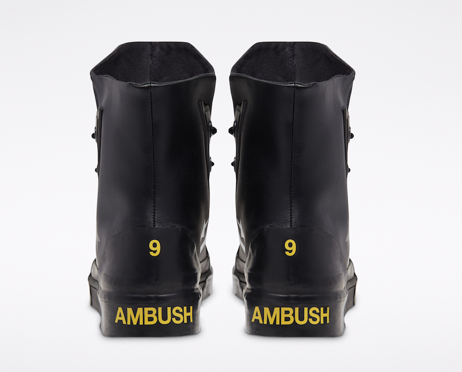 Converse X AMBUSH Pro Leather back view