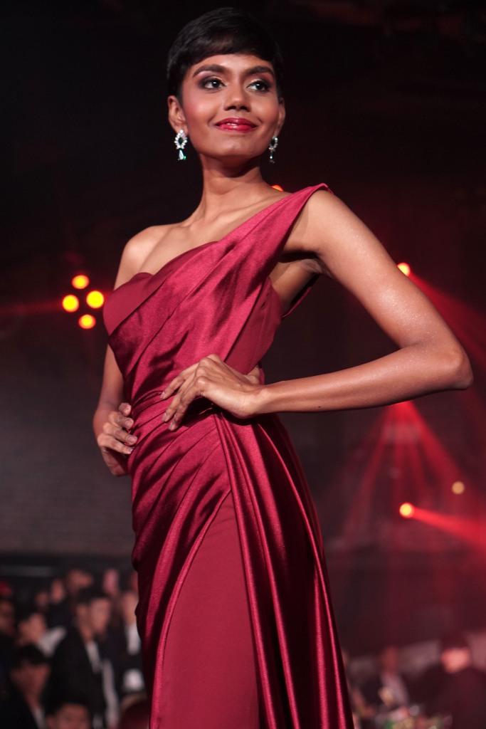 Winner of Miss Universe Singapore 2019, Mohana