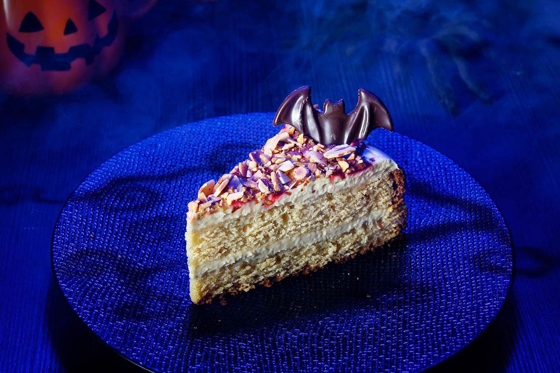 Starbucks Halloween Spooky Almond Brown Sugar Cake