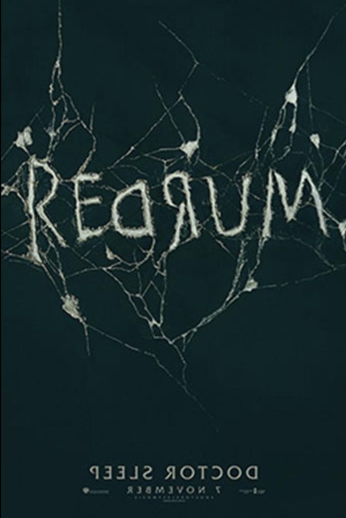 Doctor Sleep, Redrum Movie Poster
