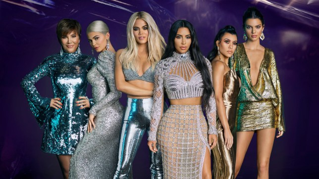 Official poster for reality TV show Keeping Up With The Kardashians