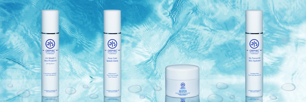 Four products from Joseph Schooling's debut skincare brand JS Orphic