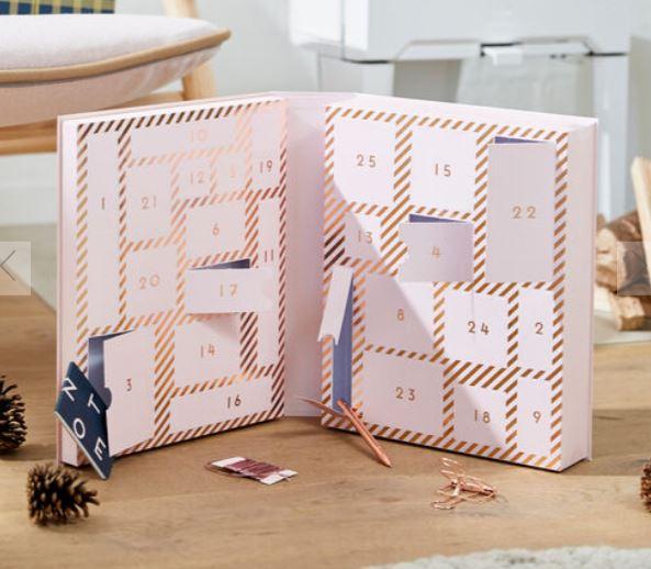 Kikki.k Stationary Lovers Advert Calendar Luxe Soft Pink: Christmas
