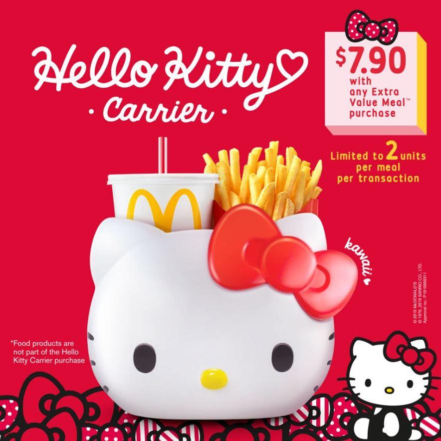 McDonald's Hello Kitty Carrier