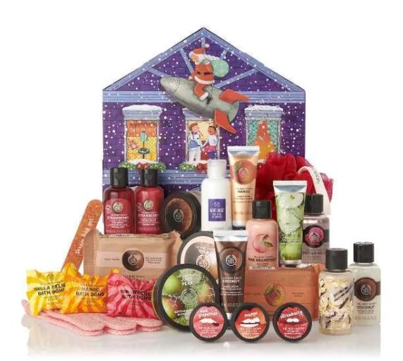 The Body Shop Dream Big Christmas Beauty Advert Calendar