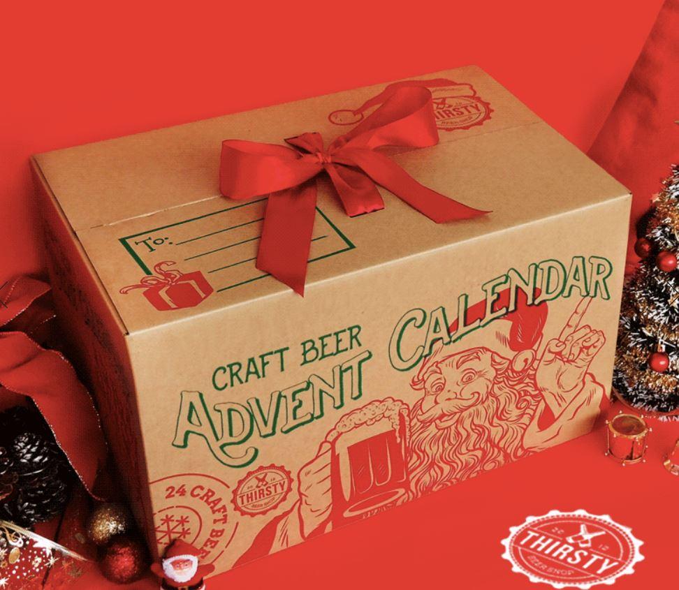 Thirsty Craft Beer Advert Calendar