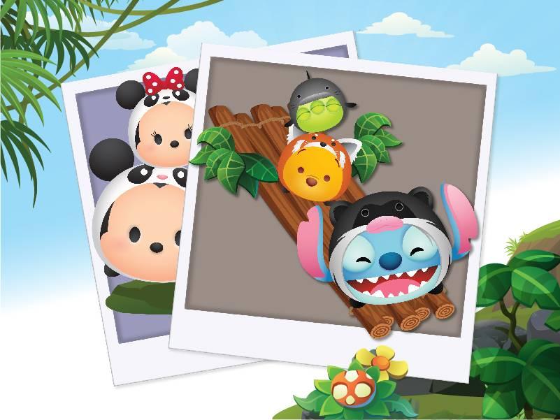 Take photos with Disney Tsum Tsums at River Safari