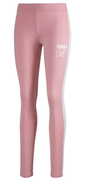 Puma and Hello kitty leggings in Pink