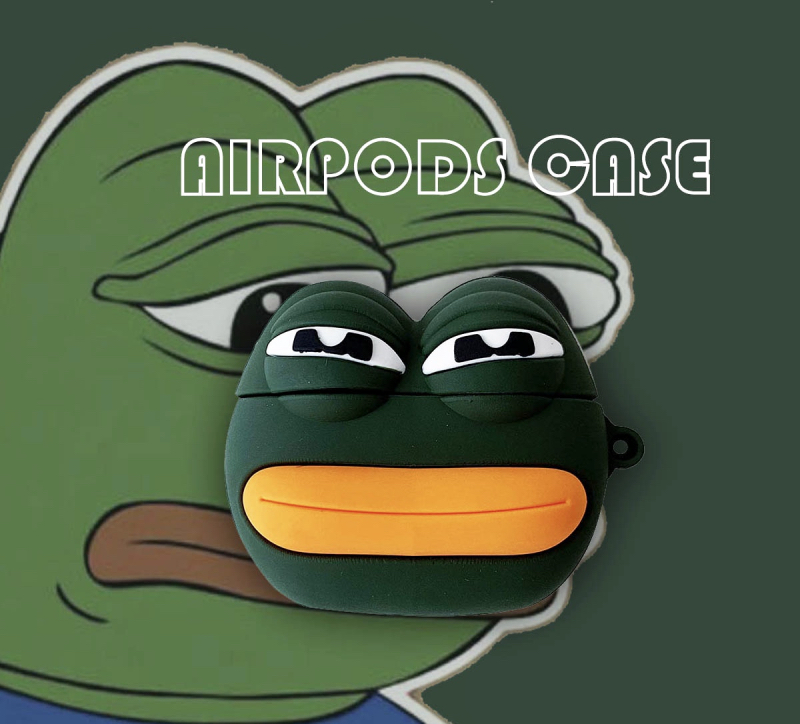 Pepe The Frog Meme AirPods Pro Case