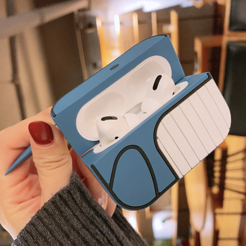 Blue Whale AirPods Pro case