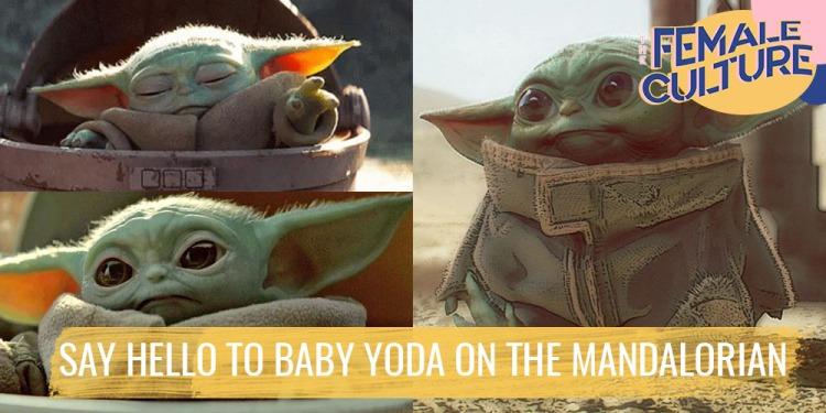 Say hello to Baby Yoda on The Mandalorian