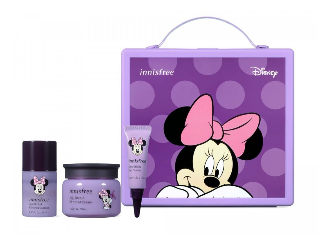 Jeju Orchid Enriched Cream Set (Minnie Mouse)