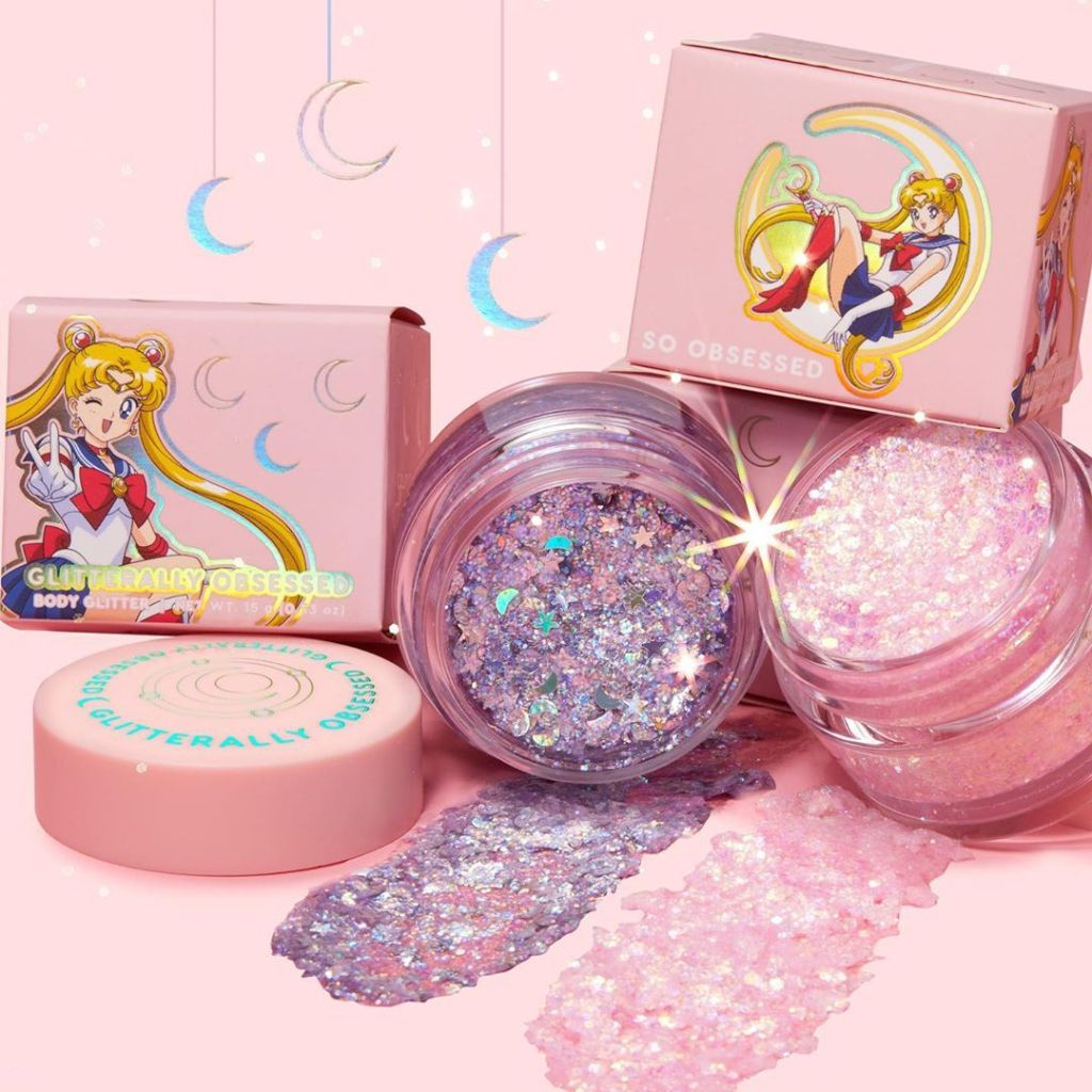 Sailor Moon Gliterally Obsessed Body Glitter