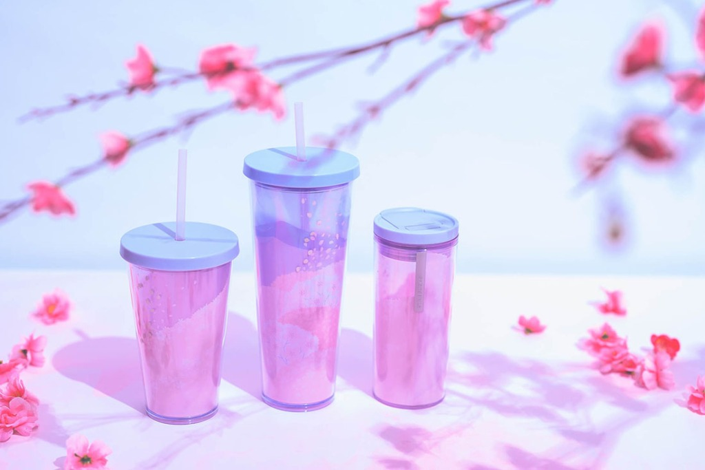Starbucks Singapore Sakura Blossoms Cold Cups