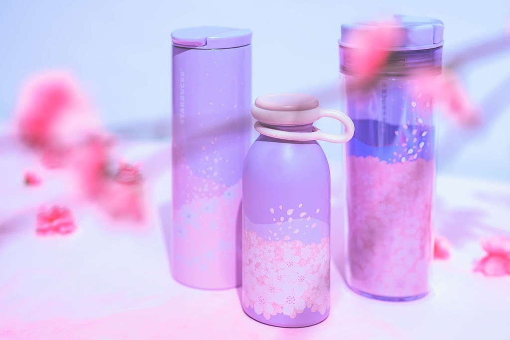 Starbucks Sakura Blossoms Tumblers and Bottles
