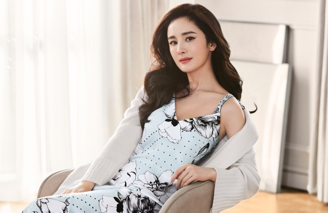 Yang Mi in a set of Victoria's Secret loungewear in the brand's latest promotional shots - The Female Culture