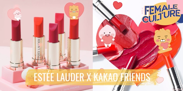 Estee Lauder and Kakao Friends unveils new collection 'Pure Color Love'
