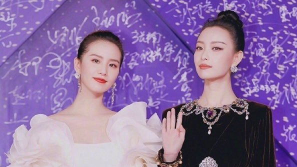 Liu Shishi and Nini glams up for the red carpet - The Female Culture