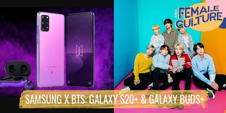 Samsung Launches Bts Edition Galaxy S20 And Buds In Singapore The Female Culture